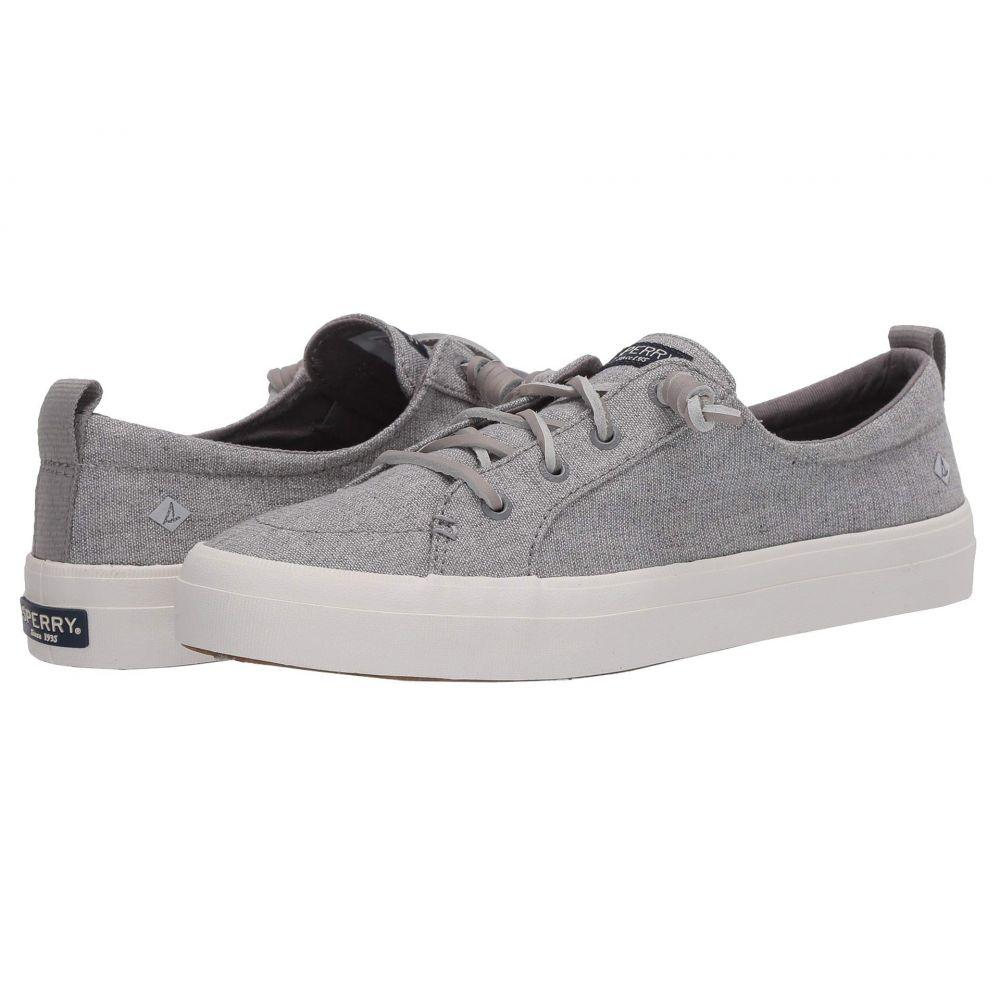 スペリー Sperry レディース スニーカー シューズ・靴【Crest Vibe Sparkle Linen】Grey