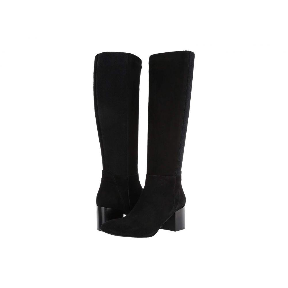 アクアタリア Aquatalia レディース ブーツ シューズ・靴【Calynn】Black Dress Suede/Cashmere
