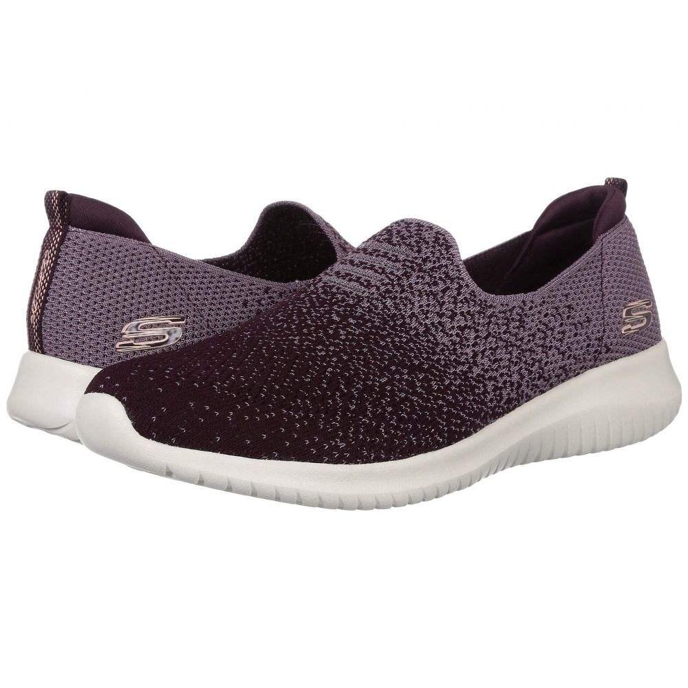 スケッチャーズ SKECHERS レディース スニーカー シューズ・靴【Ultra Flex-Cozy-Day】Plum