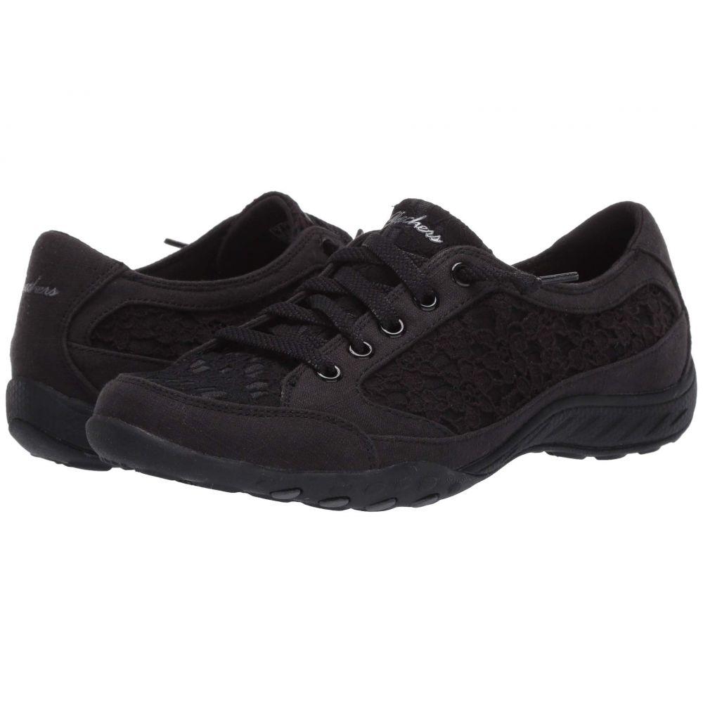 スケッチャーズ SKECHERS レディース スニーカー シューズ・靴【Breathe-Easy - Gentle Step】Black