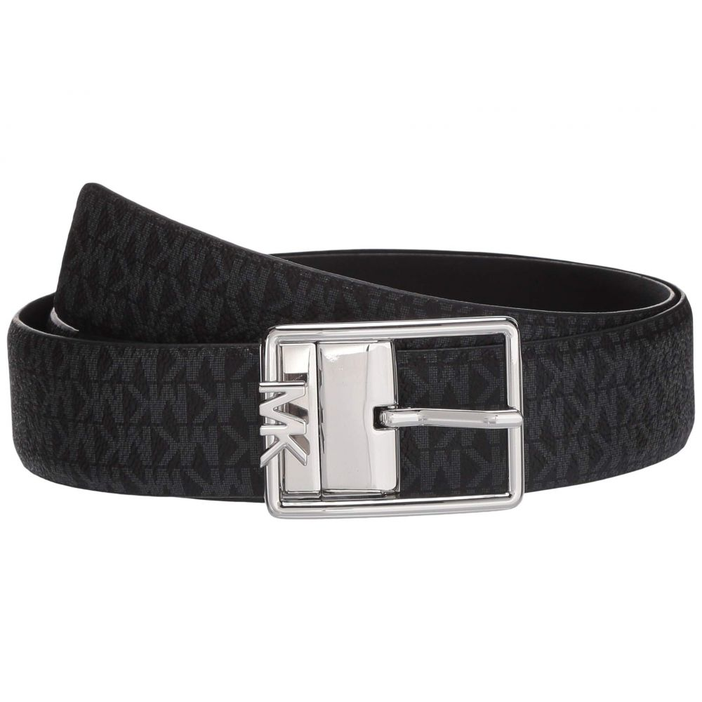 マイケル コース MICHAEL Michael Kors レディース ベルト 【35 mm Reversible Logo Belt】Black