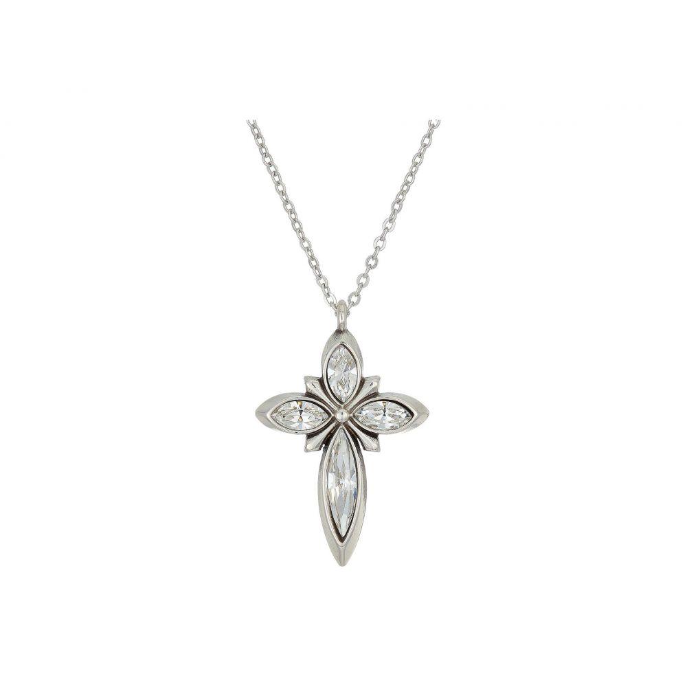 ブライトン Brighton レディース ネックレス チャーム ジュエリー・アクセサリー【Spear Cross Charm Necklace】Crystal