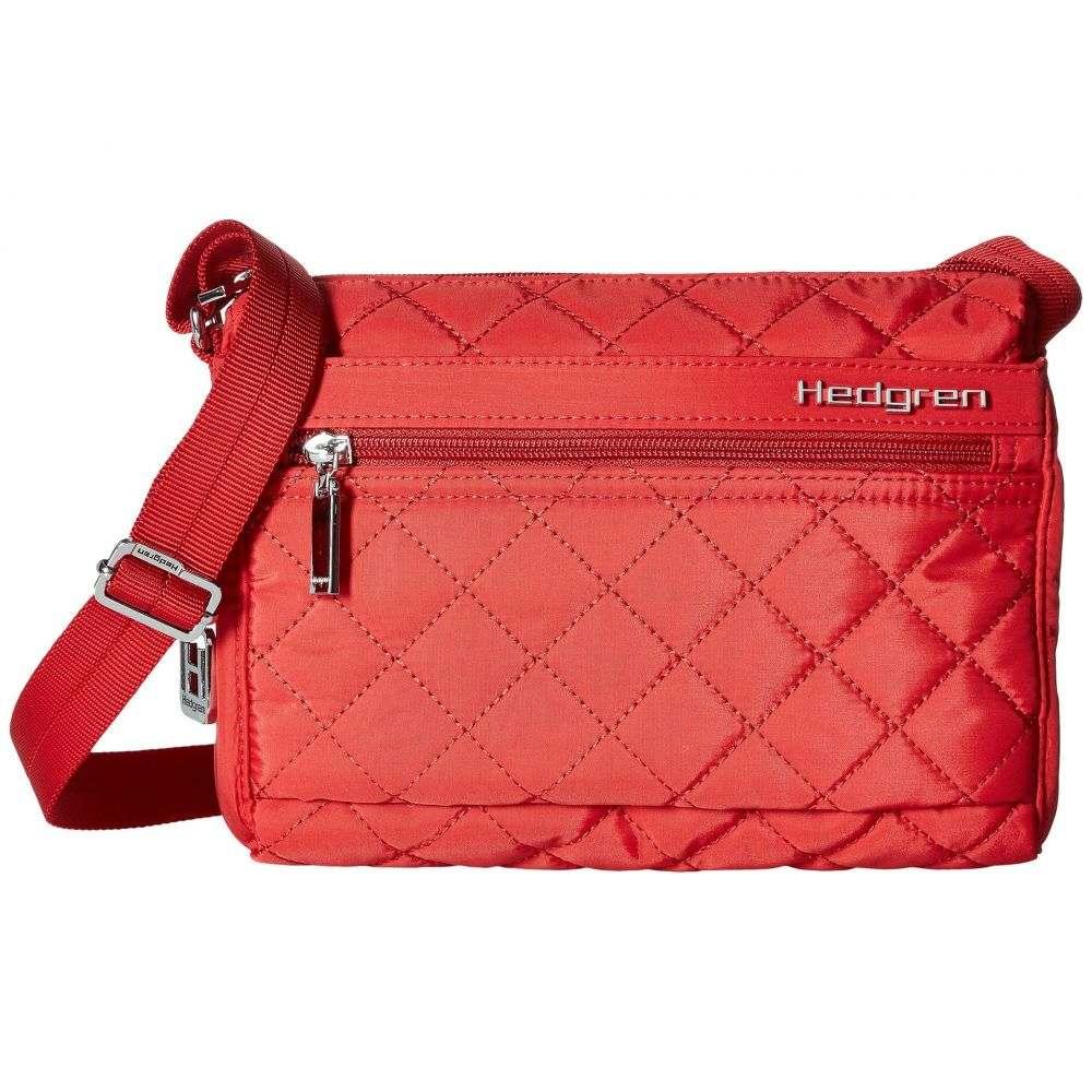 ヘデグレン Hedgren レディース ショルダーバッグ バッグ【Diamond Carina Shoulder Bag】Red
