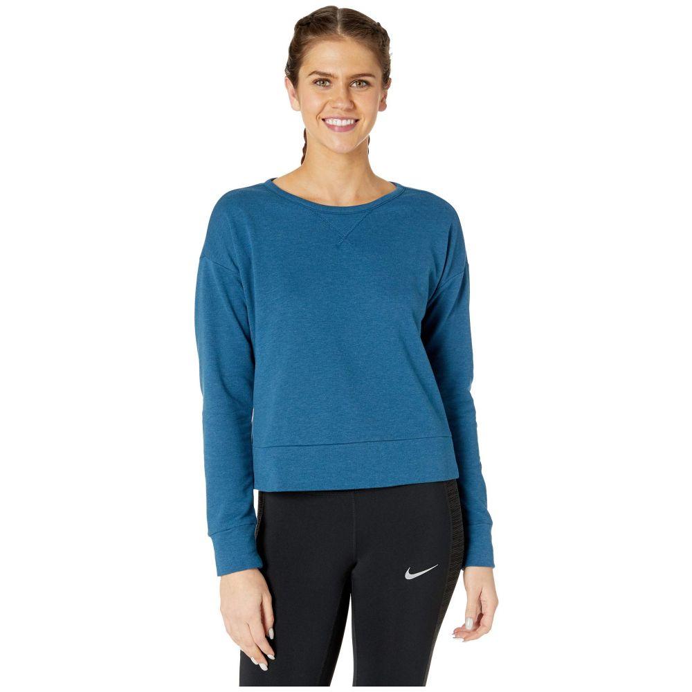 ナイキ Nike レディース ヨガ・ピラティス トップス【Yoga Wrap Cover-Up】Valerian Blue/Heather/Industrial Blue
