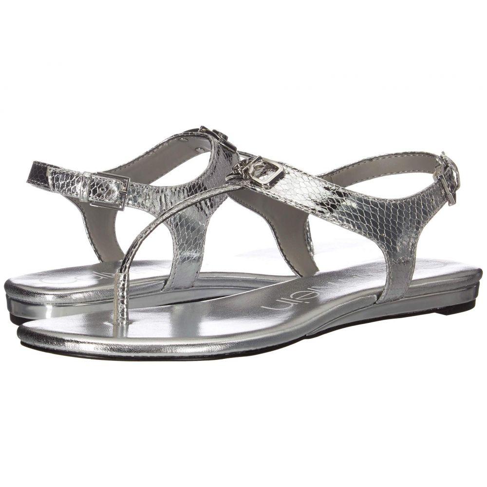 カルバンクライン Calvin Klein レディース サンダル・ミュール シューズ・靴【Shamary】Silver