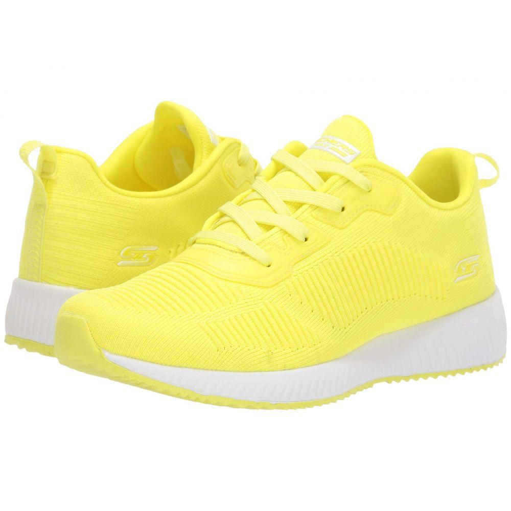 スケッチャーズ BOBS from SKECHERS レディース スニーカー シューズ・靴【Bobs Squad - Glow Rider】Neon Yellow