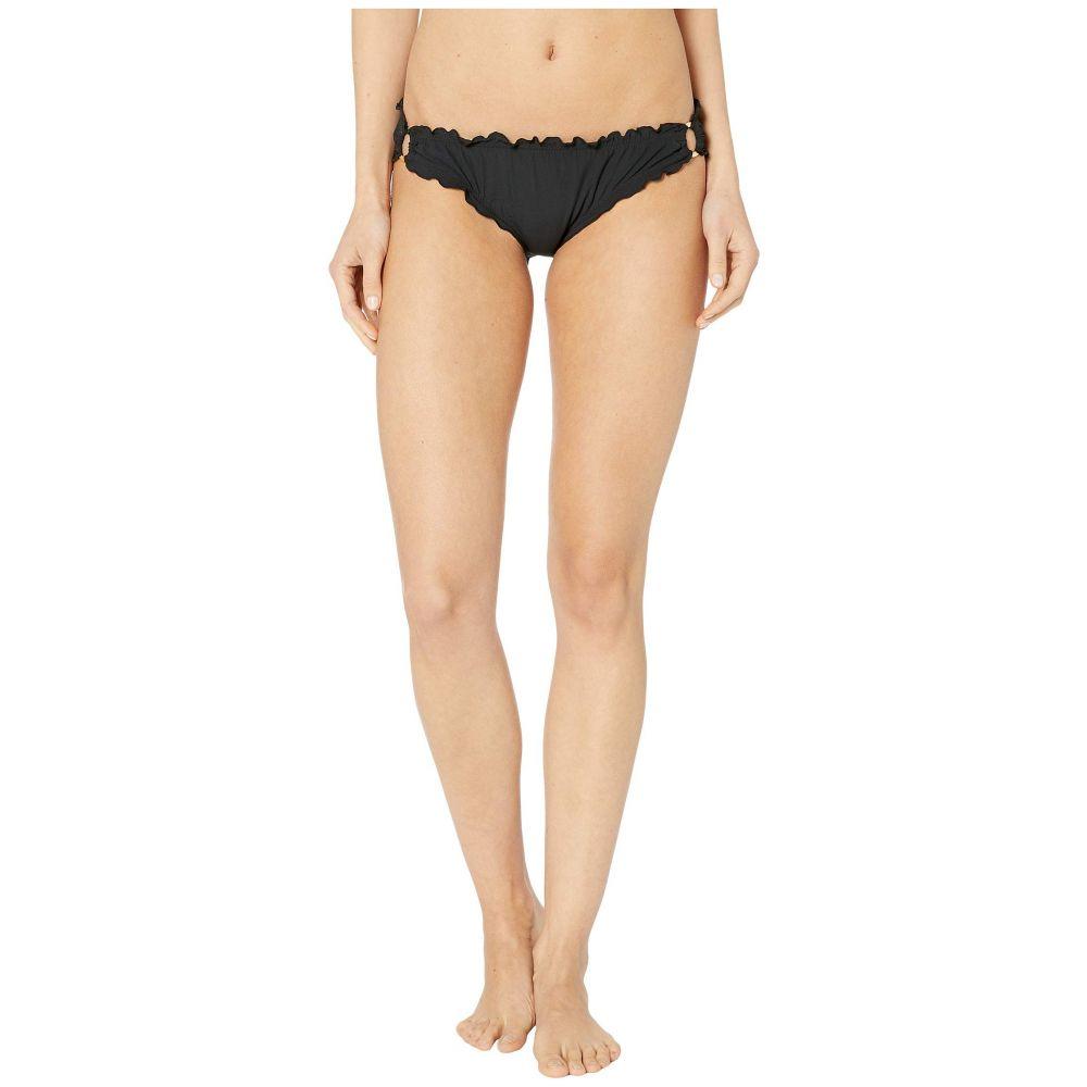ケイト スペード Kate Spade New York レディース ボトムのみ 水着・ビーチウェア【Solids Ruffle Edge Bikini Bottoms】Black
