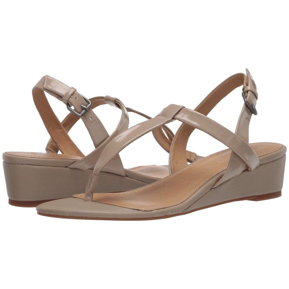 スプレンディッド Splendid レディース サンダル・ミュール シューズ・靴【Avalon】Beige Wrinkle Patent