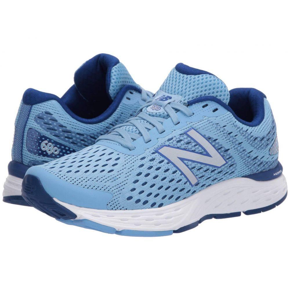 ニューバランス New Balance レディース ランニング・ウォーキング シューズ・靴【680v6】Team Carolina/Neo Classic Blue