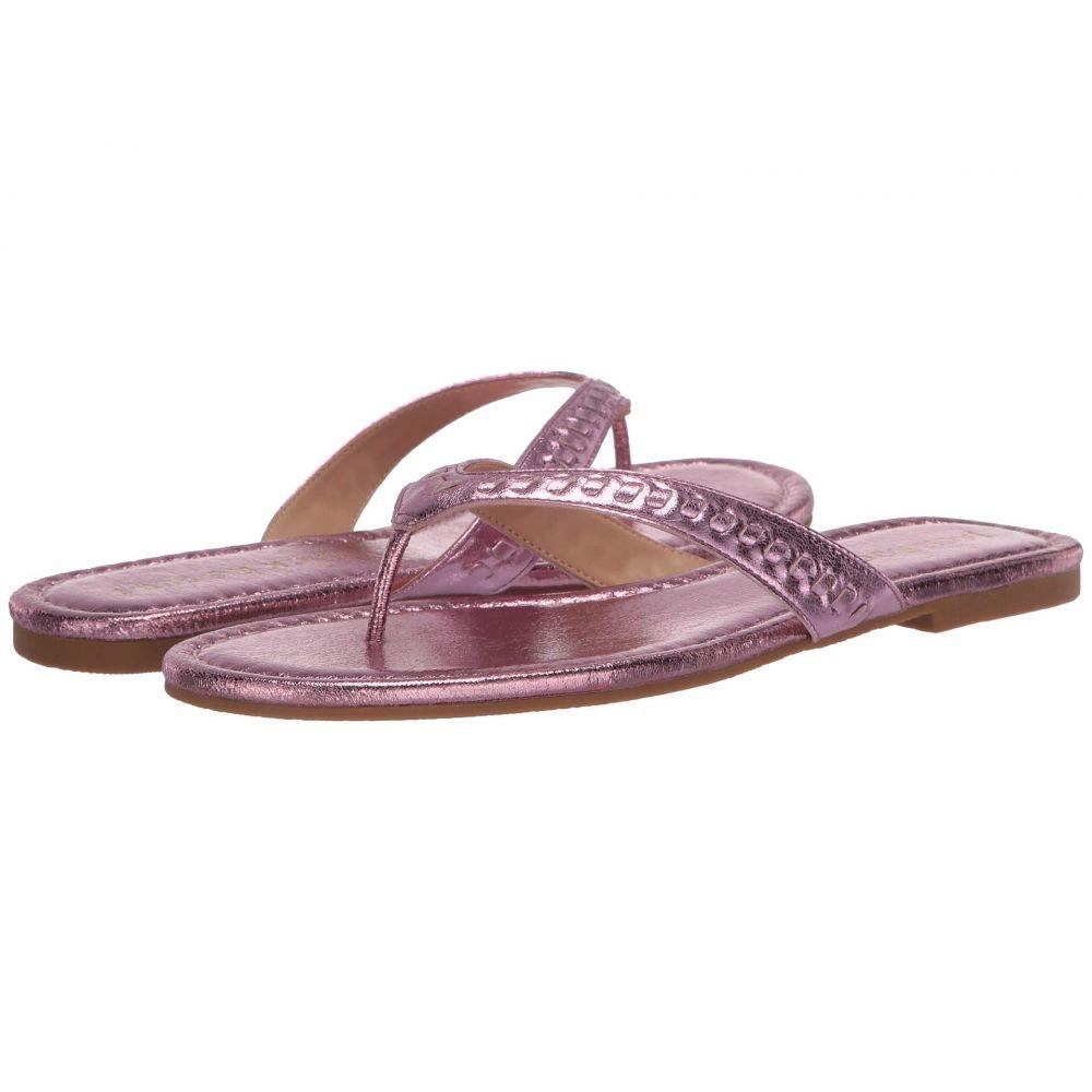 ジャックロジャース Jack Rogers レディース ビーチサンダル シューズ・靴【Metallic Collins Flip-Flop】Light Pink