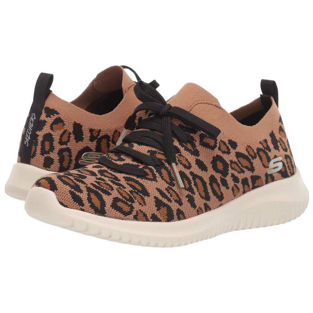 スケッチャーズ SKECHERS レディース スニーカー シューズ・靴【Ultra Flex - Safari Tour】Leopard