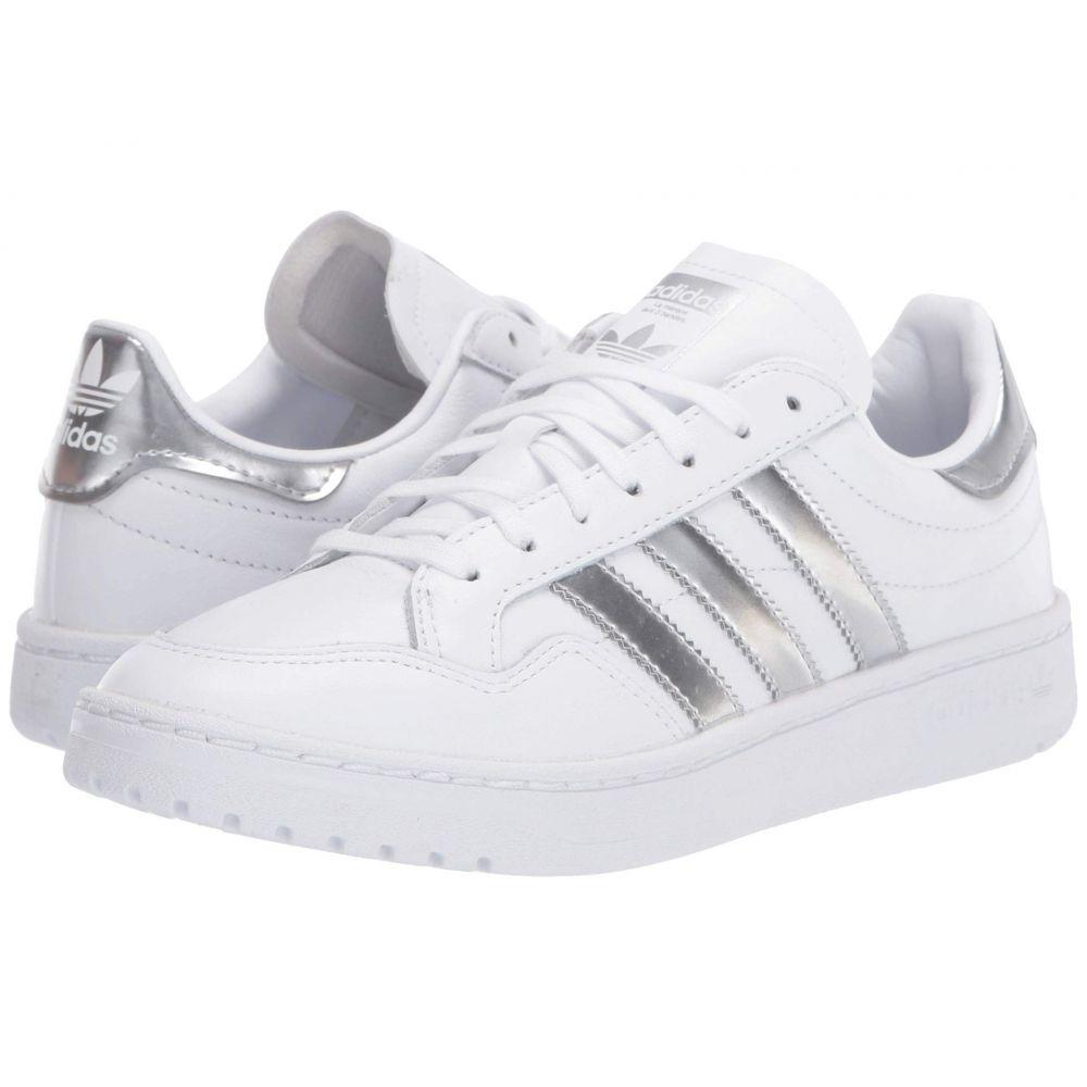 アディダス adidas Originals レディース スニーカー シューズ・靴【Team Court】Footwear White/Silver Metallic/Footwear White