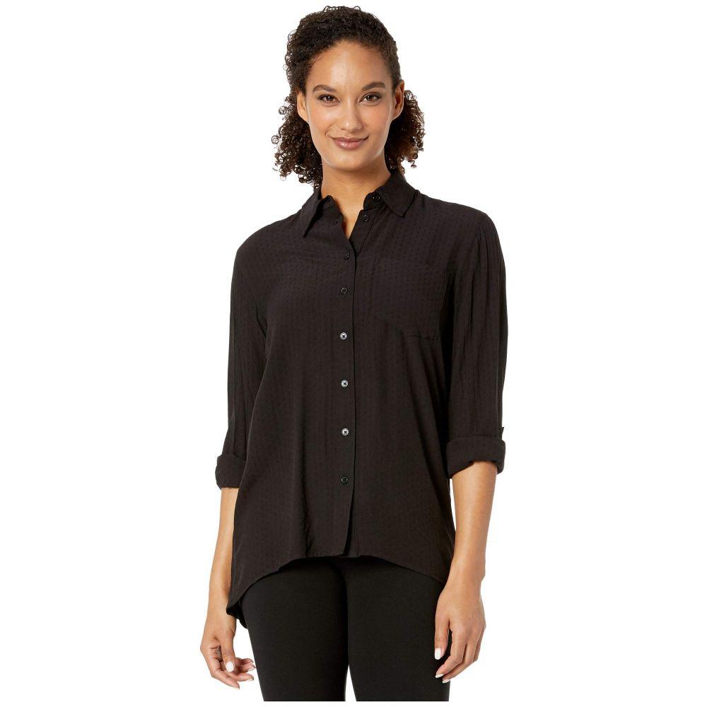 マイケル コース MICHAEL Michael Kors レディース ブラウス・シャツ トップス【Oversized Shirt】Black