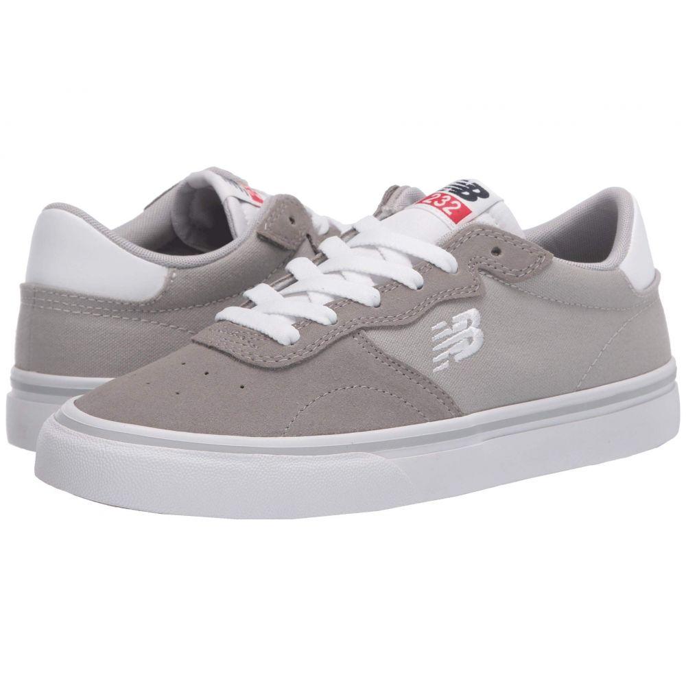 ニューバランス New Balance Numeric メンズ スニーカー シューズ・靴【All Coasts 232】Grey/White