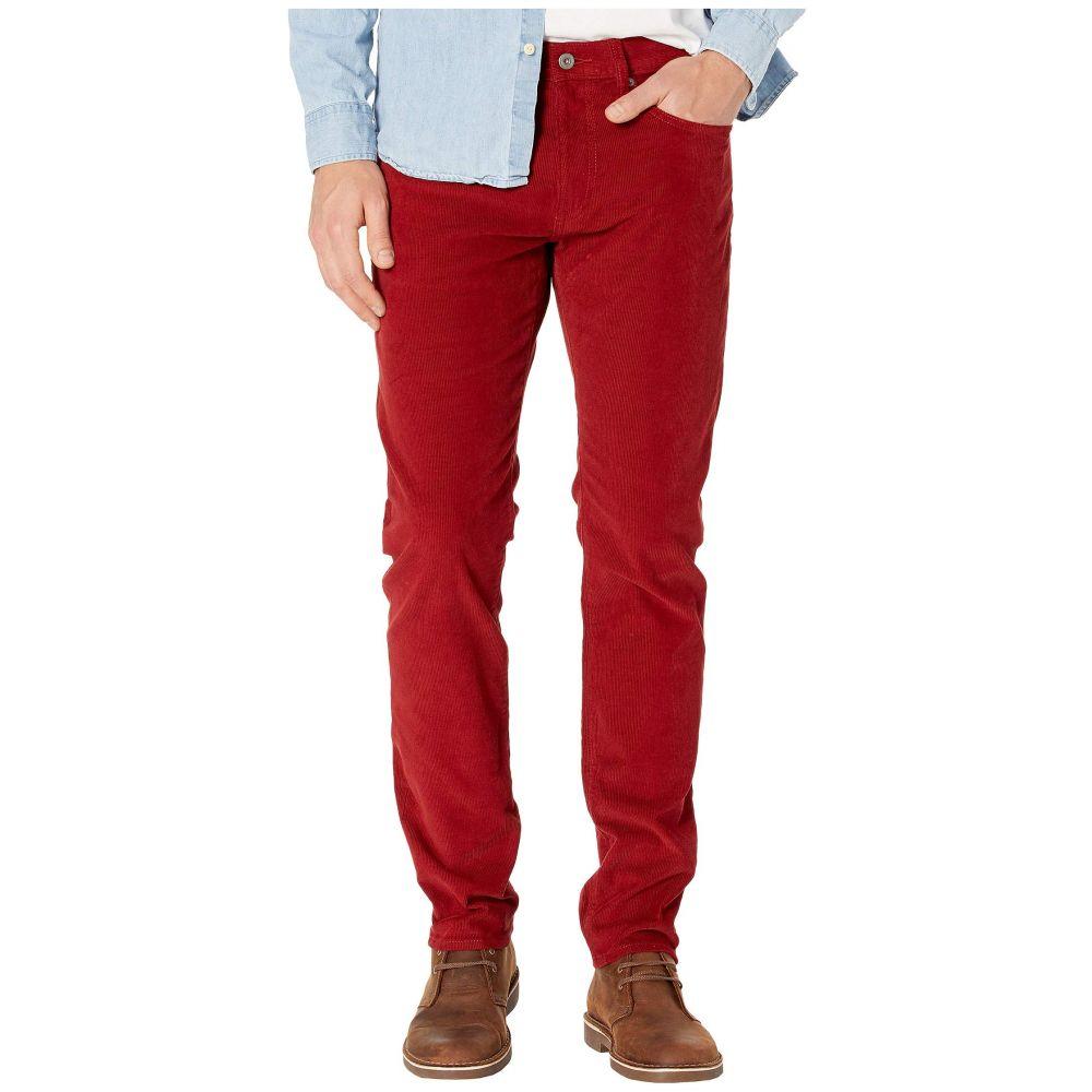 ジェイクルー J.Crew メンズ スキニー・スリム ボトムス・パンツ【484 Slim-Fit Pant in Corduroy】Fireside Red