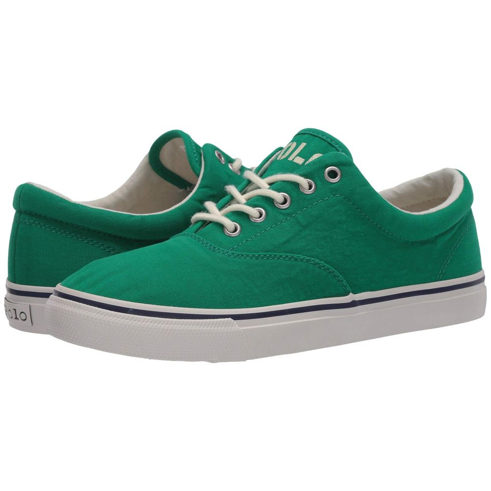 ラルフ ローレン Polo Ralph Lauren メンズ スニーカー シューズ・靴【Harpoon】Green Washed Canvas