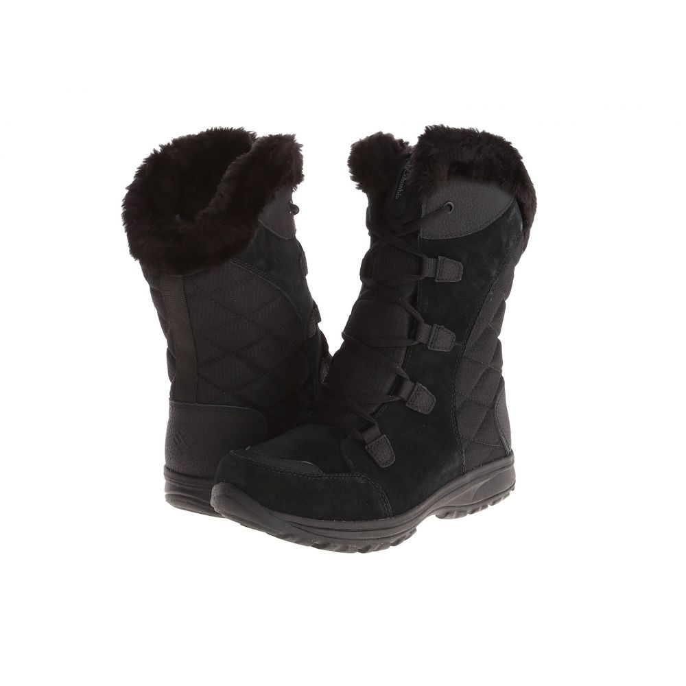 コロンビア Columbia レディース ブーツ シューズ・靴【Ice Maiden(TM) II】Black/Columbia Grey