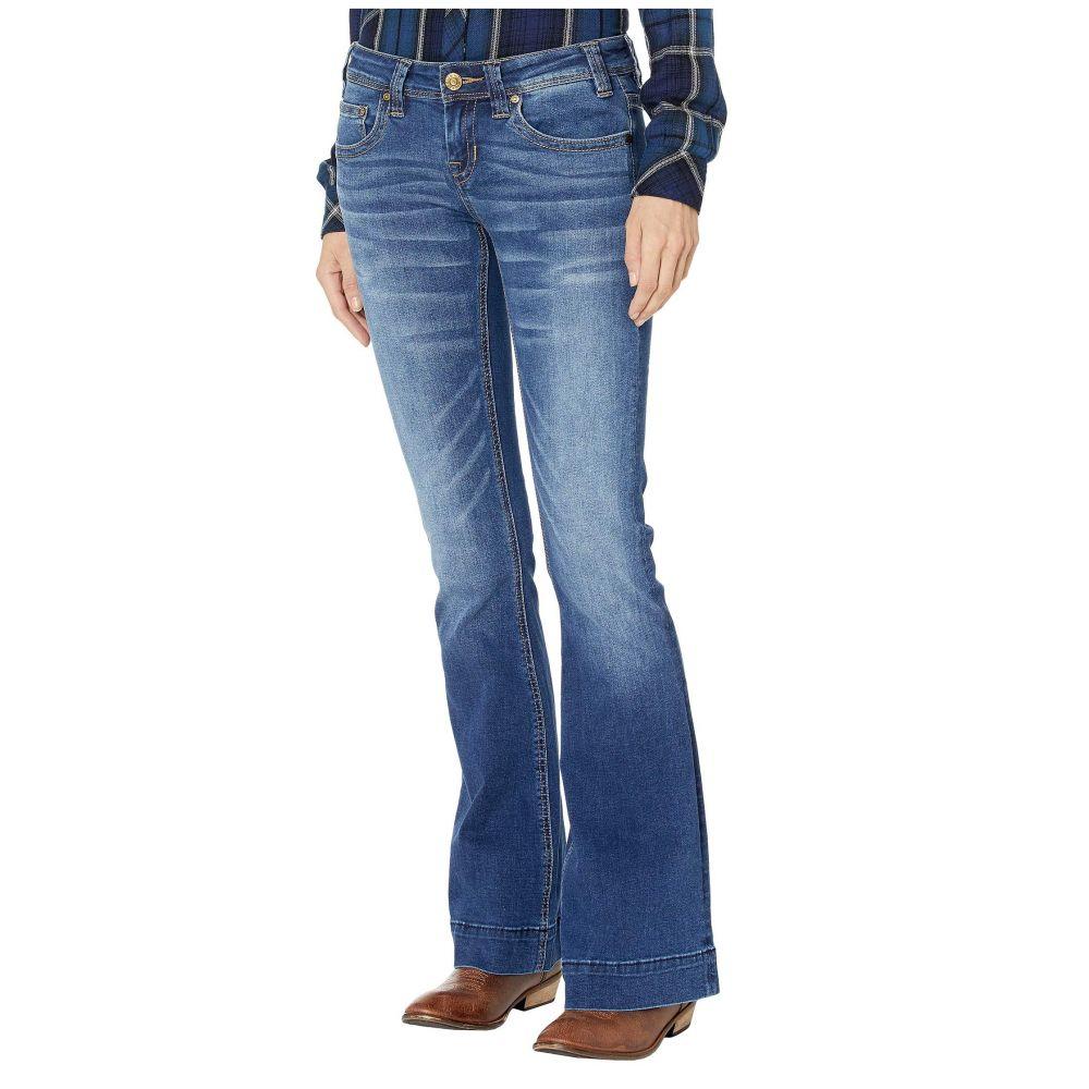 ロックアンドロールカウガール Rock and Roll Cowgirl レディース ジーンズ・デニム ボトムス・パンツ【Trousers in Medium Wash W8-3443】Medium Wash