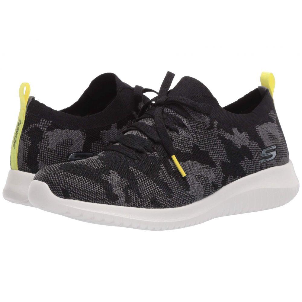スケッチャーズ SKECHERS レディース スニーカー シューズ・靴【Ultra Flex】Black/Grey