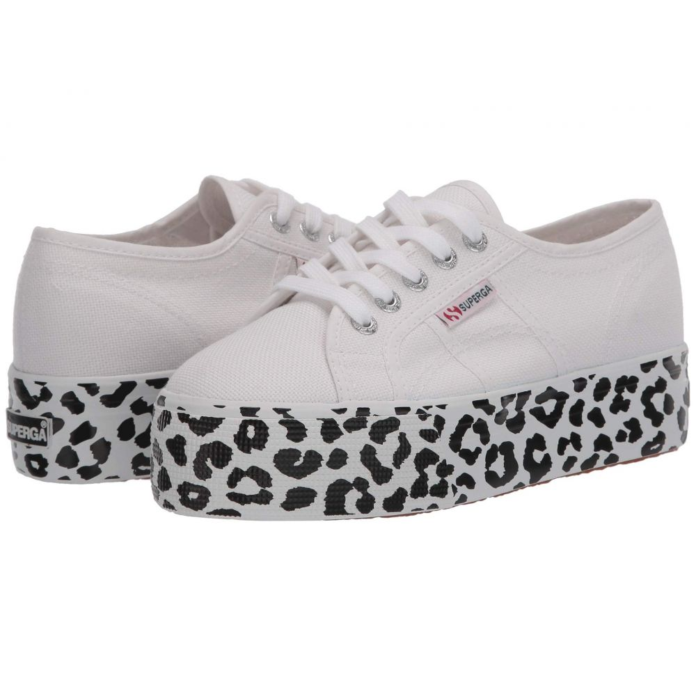 スペルガ Superga レディース スニーカー シューズ・靴【2790 COTW Print】White Leopard
