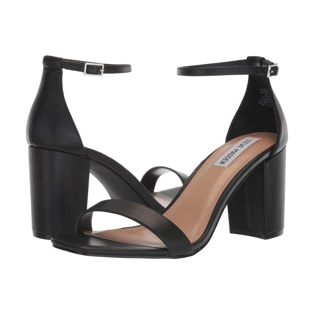 スティーブ マデン Steve Madden レディース サンダル・ミュール シューズ・靴【Delrey Heeled Sandal】Black