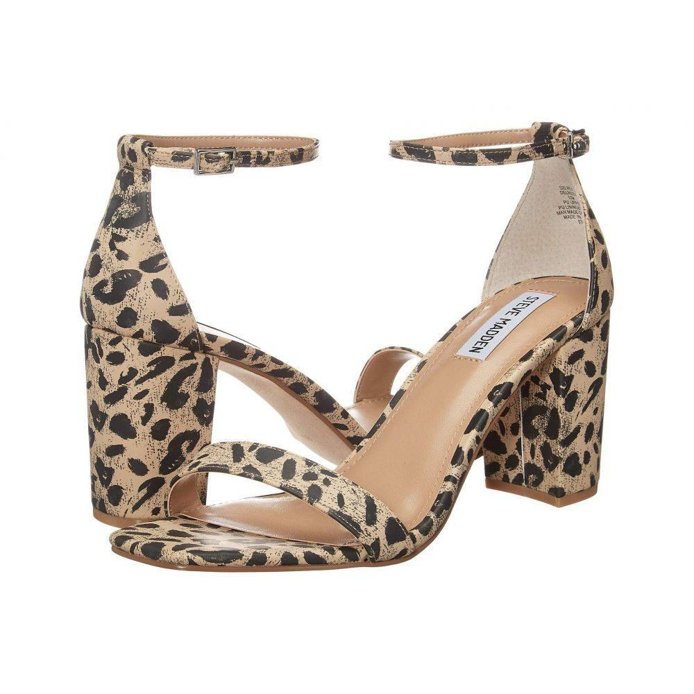 スティーブ マデン Steve Madden レディース サンダル・ミュール シューズ・靴【Delrey Heeled Sandal】Leopard