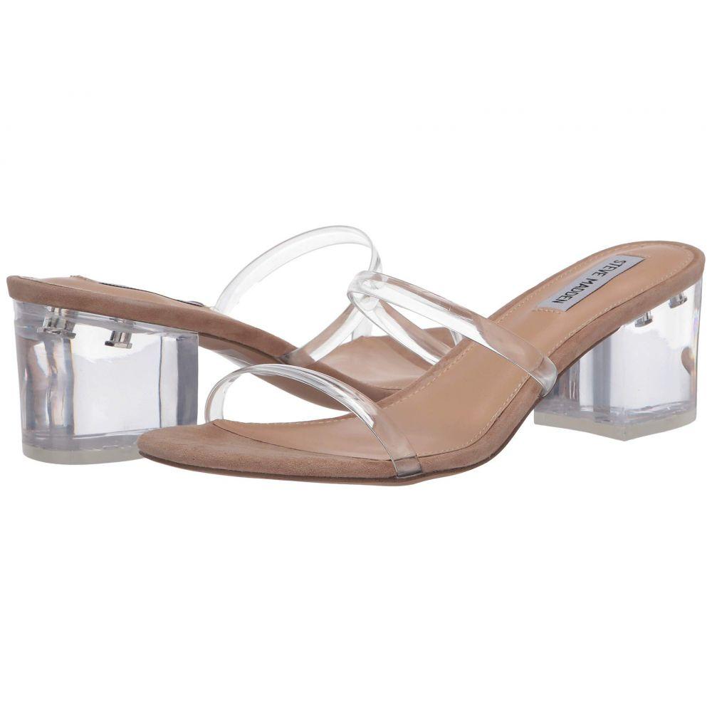 スティーブ マデン Steve Madden レディース サンダル・ミュール シューズ・靴【Issy Heeled Sandal】Clear