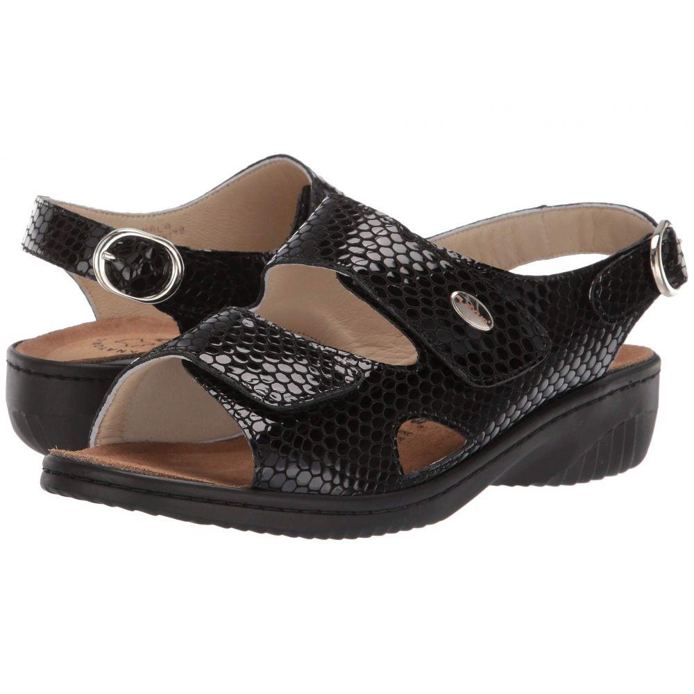 スプリングステップ Spring Step レディース サンダル・ミュール シューズ・靴【Aksamala】Black Patent