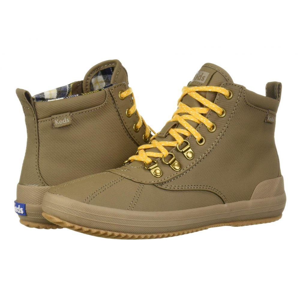 ケッズ Keds レディース ブーツ シューズ・靴【Scout Boot II Matte Twill WX】Walnut