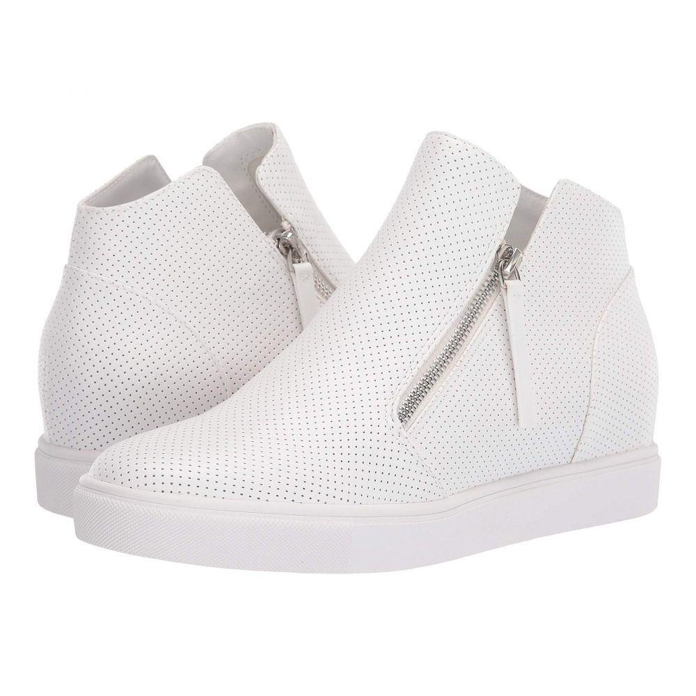 スティーブ マデン Steve Madden レディース スニーカー ウェッジソール シューズ・靴【Caliber Wedge Sneaker】White