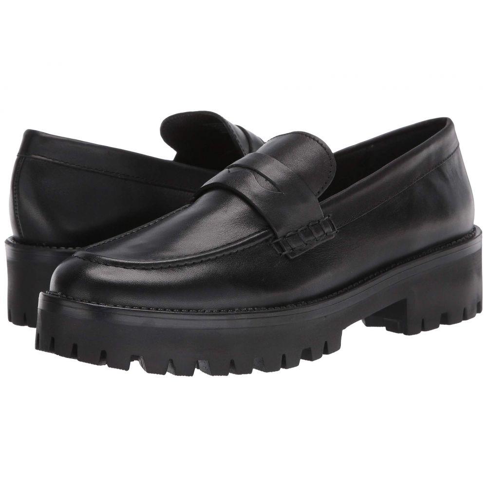 スティーブ マデン Steve Madden レディース ローファー・オックスフォード シューズ・靴【Crew Penny Loafer】Black Leather