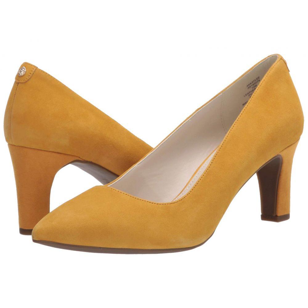 アン クライン Anne Klein レディース ヒール シューズ・靴【Kaylee】Dark Yellow