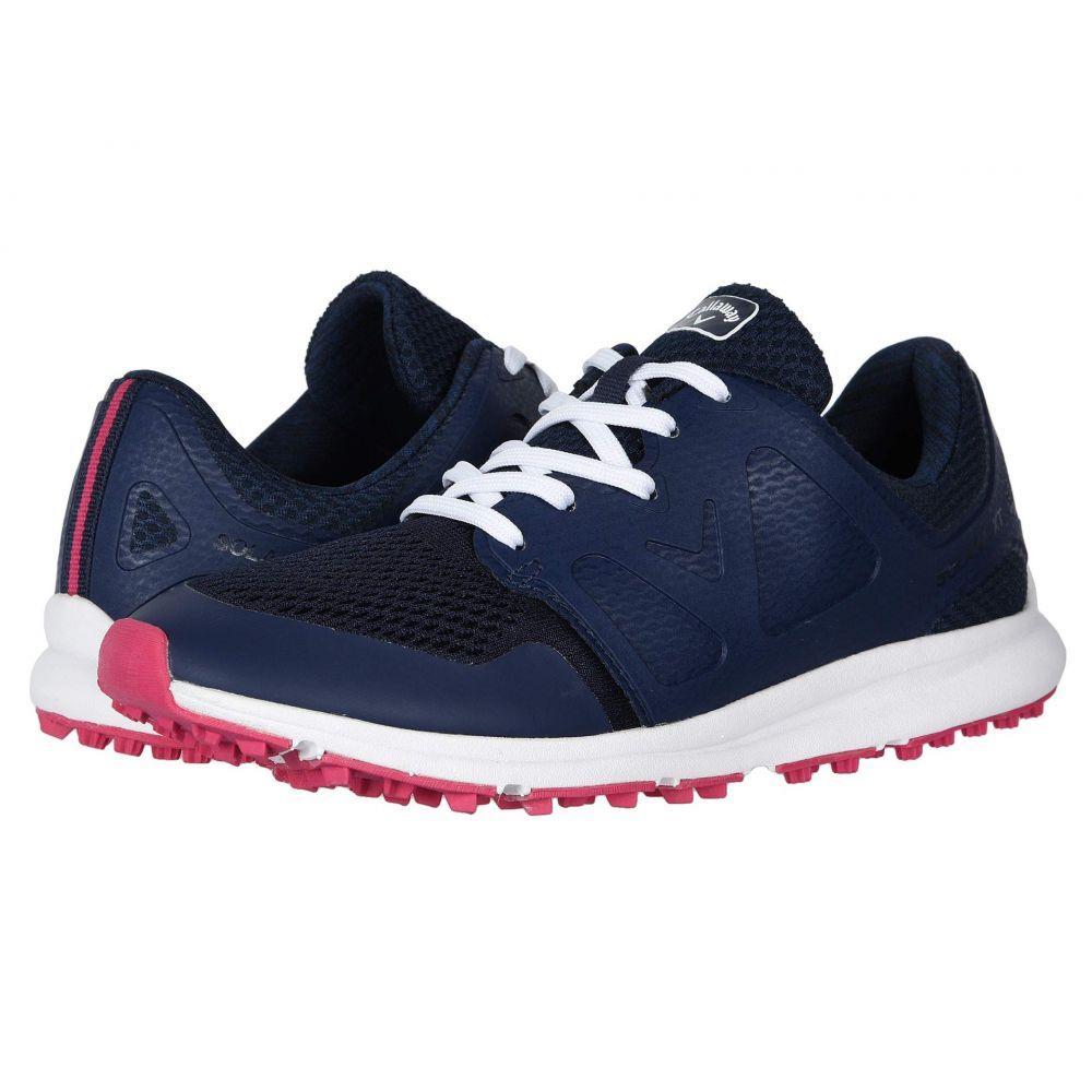 キャロウェイ Callaway レディース ゴルフ シューズ・靴【Solana XT】Navy