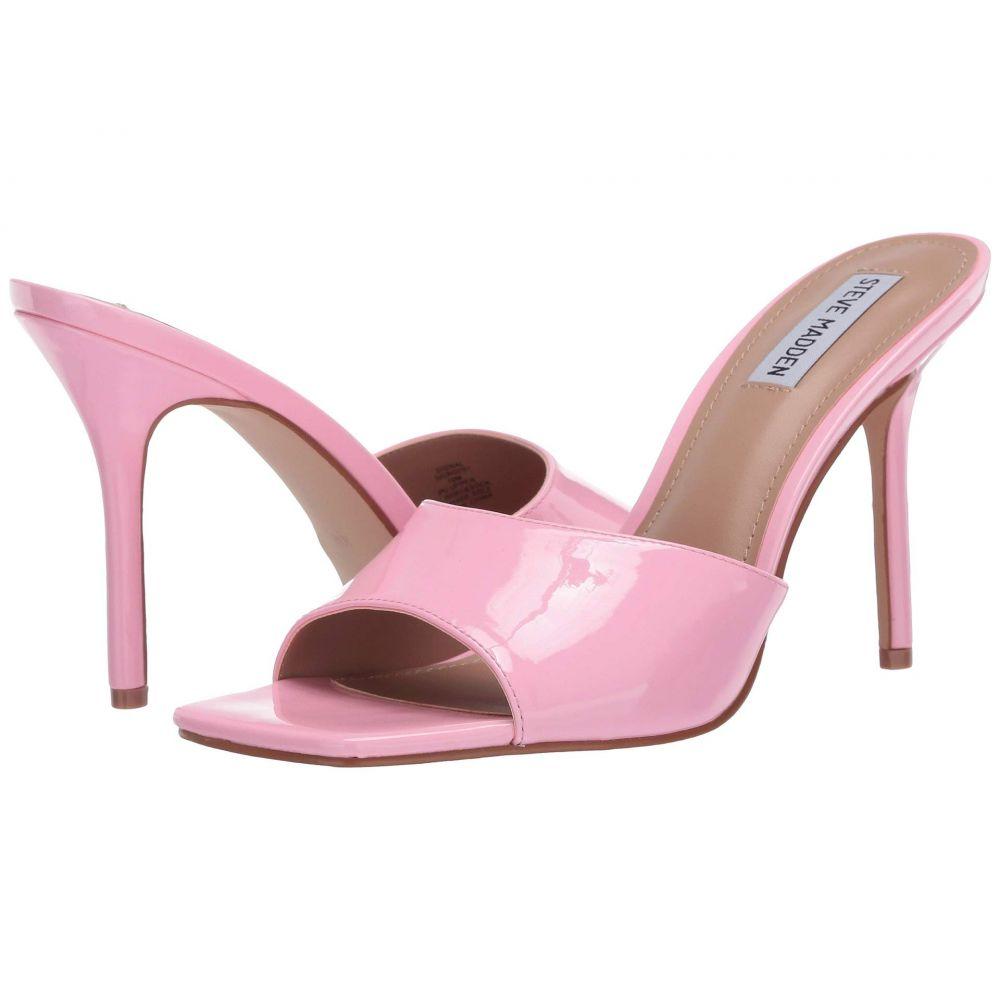 スティーブ マデン Steve Madden レディース サンダル・ミュール シューズ・靴【Signal Heeled Sandal】Pink Patent