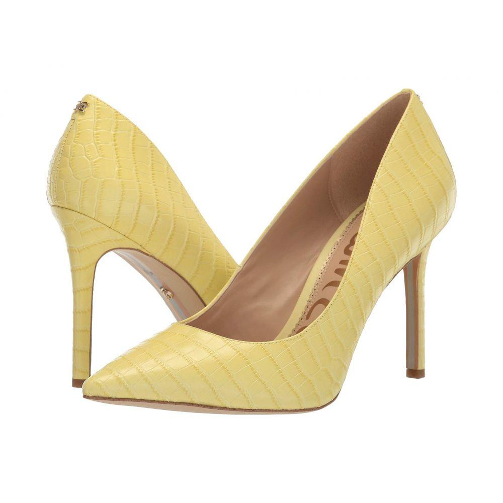サム エデルマン Sam Edelman レディース ヒール シューズ・靴【Hazel】Citron Haze Large Kenya Croco Embossed Leather