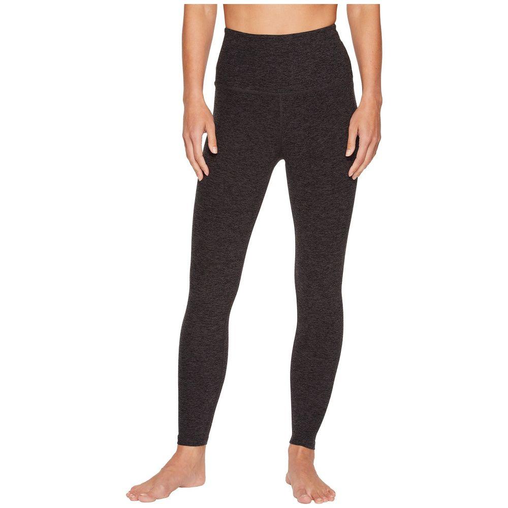 ビヨンドヨガ Beyond Yoga レディース スパッツ・レギンス インナー・下着【Spacedye High-Waist Midi Leggings】Black/Charcoal