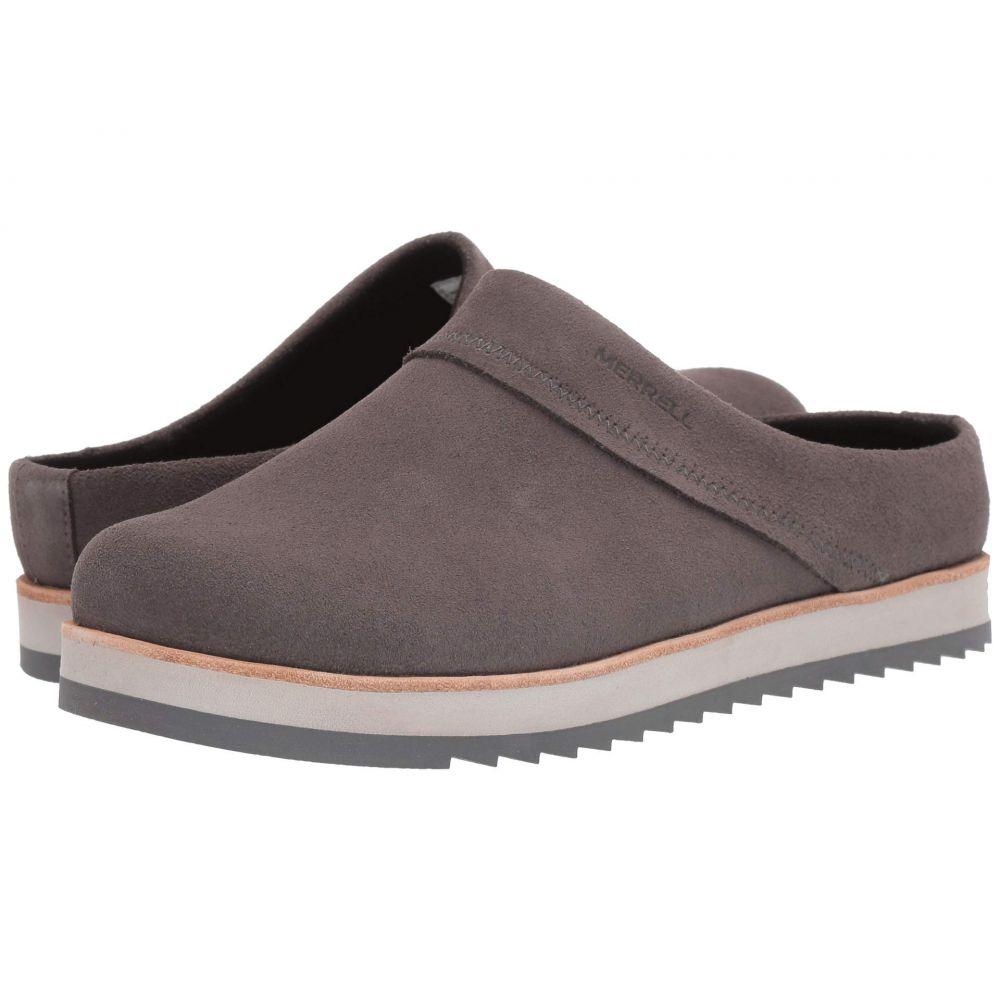 メレル Merrell レディース クロッグ シューズ・靴【Juno Clog Suede】Charcoal