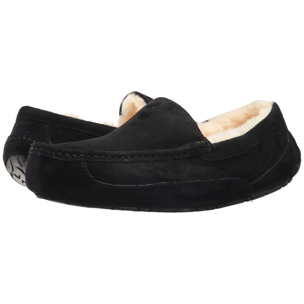 アグ UGG メンズ スリッパ シューズ・靴【Ascot】Black Suede