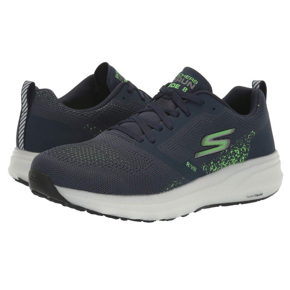 スケッチャーズ SKECHERS メンズ ランニング・ウォーキング シューズ・靴【Go Run Ride 8】Navy/Green