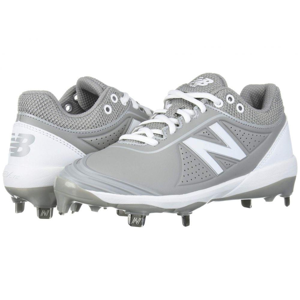 ニューバランス New Balance メンズ 野球 シューズ・靴【Fuse v2】Grey/White