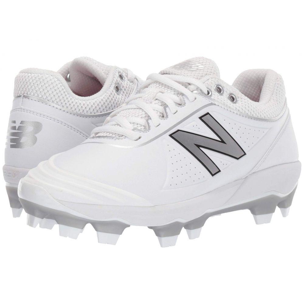 ニューバランス New Balance メンズ 野球 シューズ・靴【Fuse v2 TPU】White/Silver