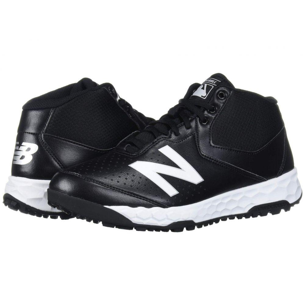 ニューバランス New Balance メンズ 野球 シューズ・靴【Fresh Foam 950v3 Mid Umpire】Black/White