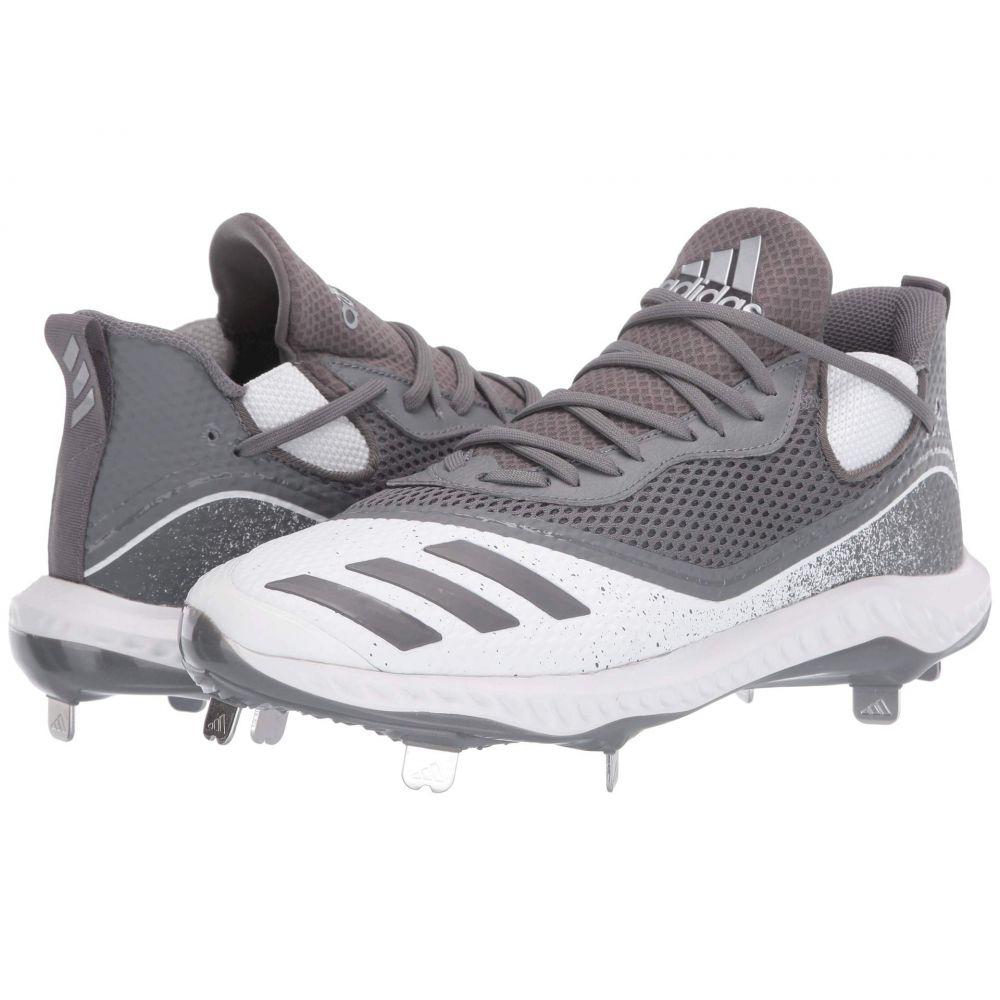 アディダス adidas メンズ 野球 シューズ・靴【Icon V Bounce】Grey Four/Grey Four/Footwear White