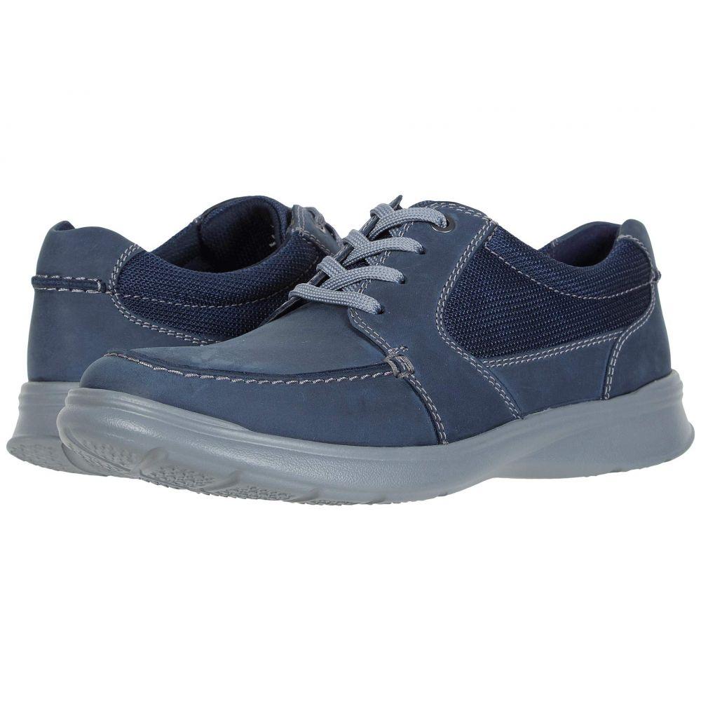 クラークス Clarks メンズ スニーカー シューズ・靴【Cotrell Lane】Navy Combi Leather