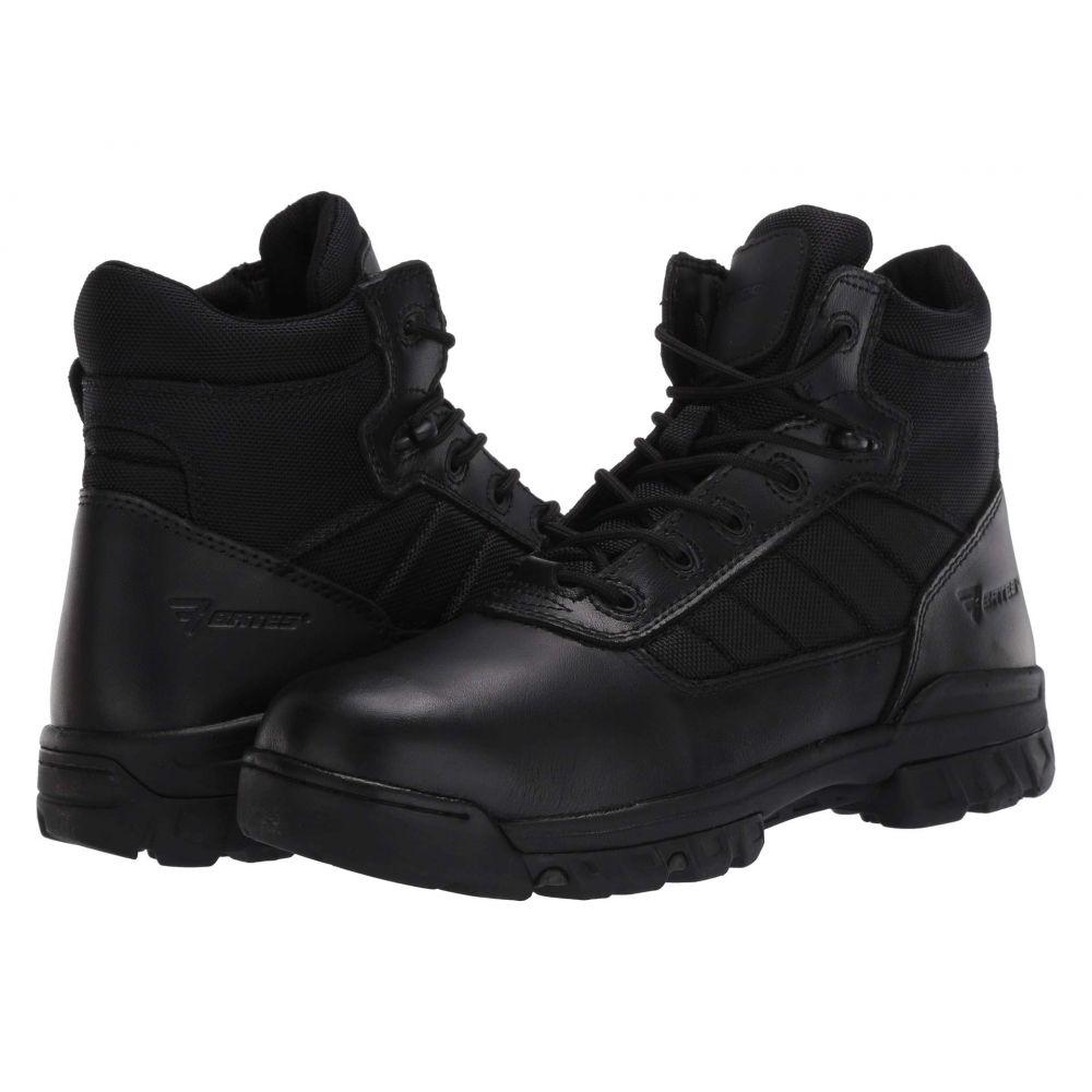 ベイツ Bates Footwear メンズ ブーツ シューズ・靴【5' Tactical Sport Side Zip】Black