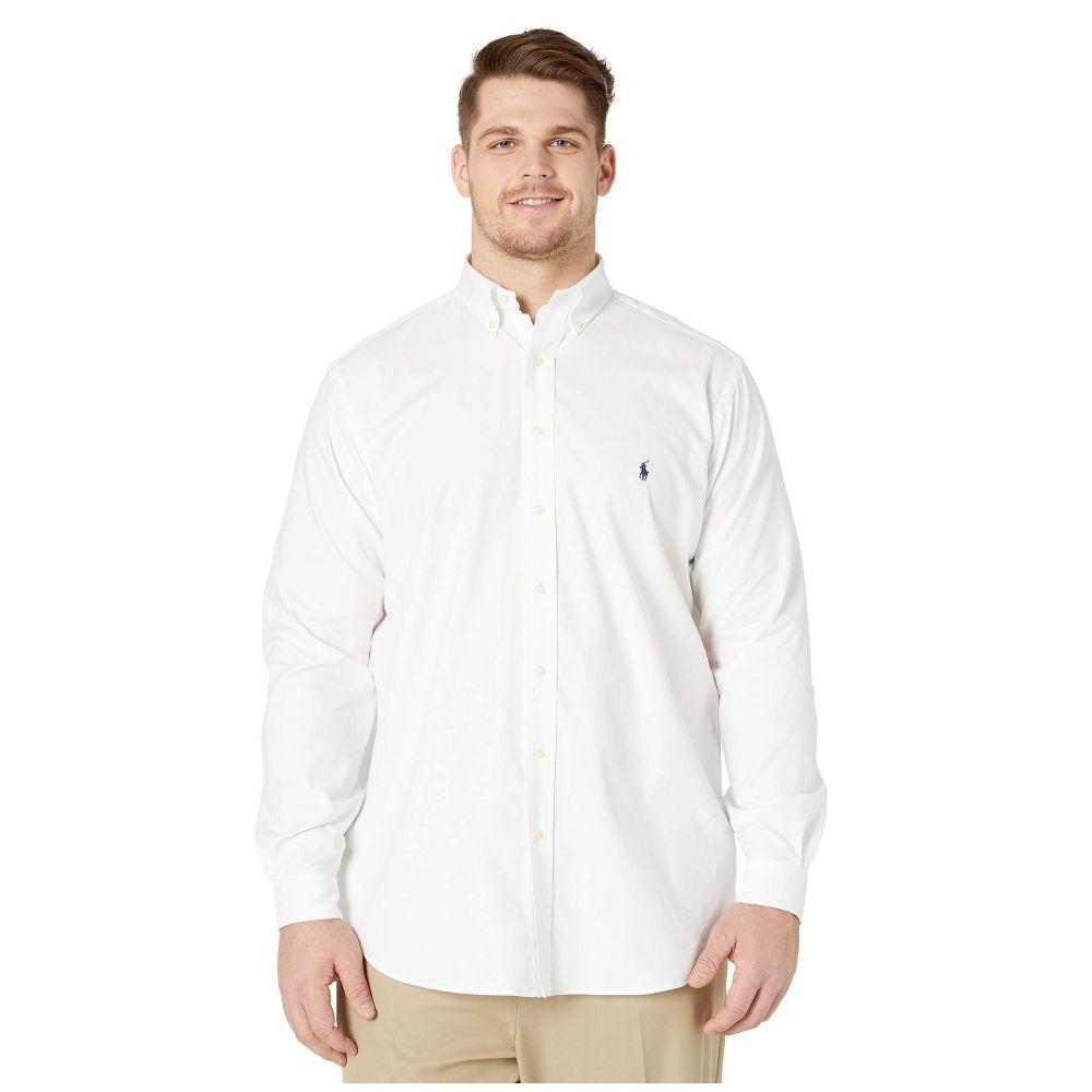 ラルフ ローレン Polo Ralph Lauren Big & Tall メンズ シャツ 大きいサイズ トップス【Big & Tall Long Sleeve Performance Wovens】White
