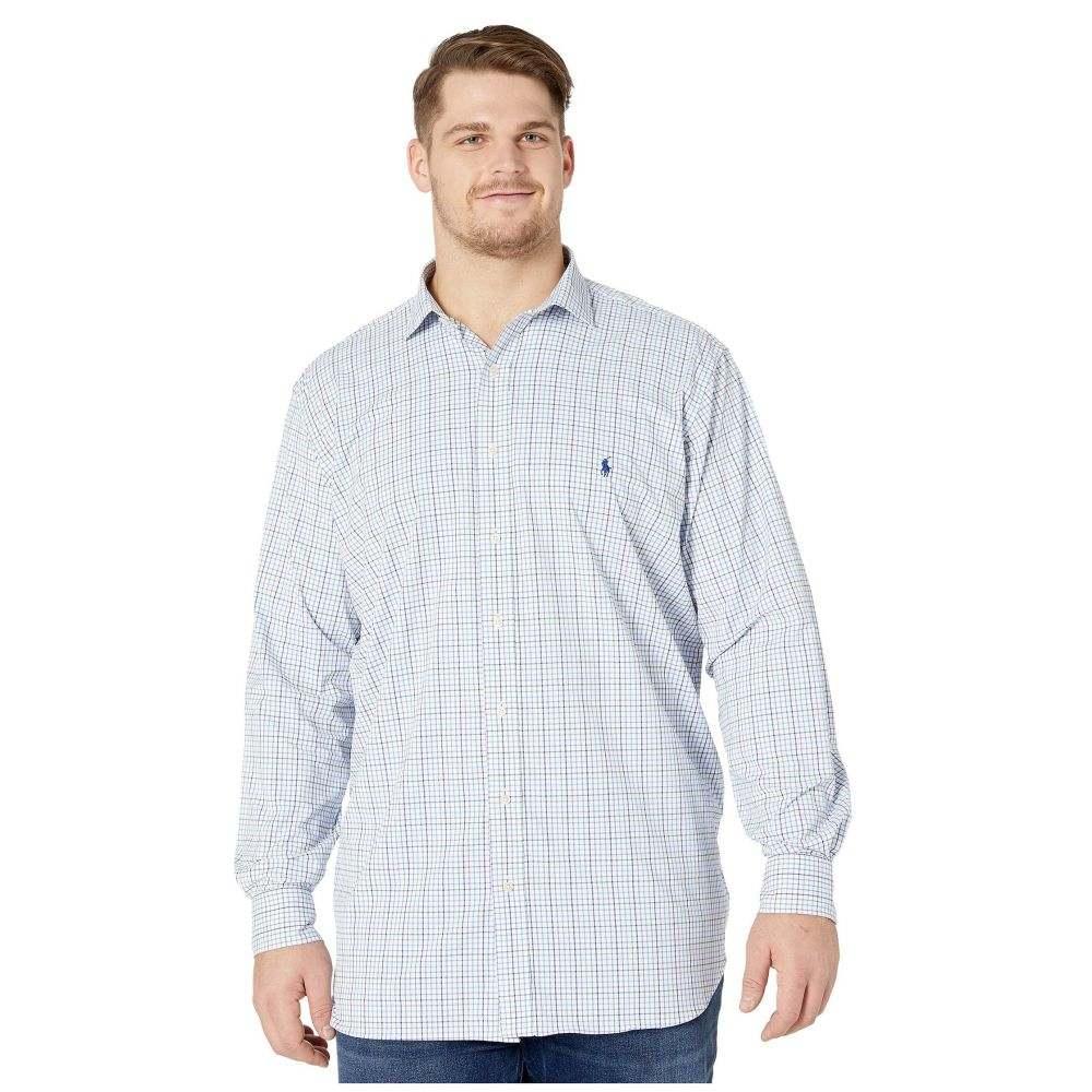 ラルフ ローレン Polo Ralph Lauren Big & Tall メンズ シャツ 大きいサイズ トップス【Big & Tall Long Sleeve Performance Woven Shirt】Purple/Grey Multi