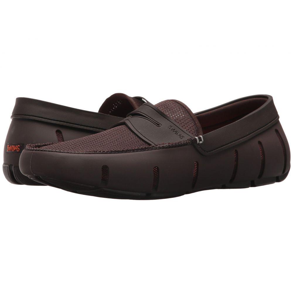 スウィムス SWIMS メンズ ローファー シューズ・靴【Penny Loafer】Brown