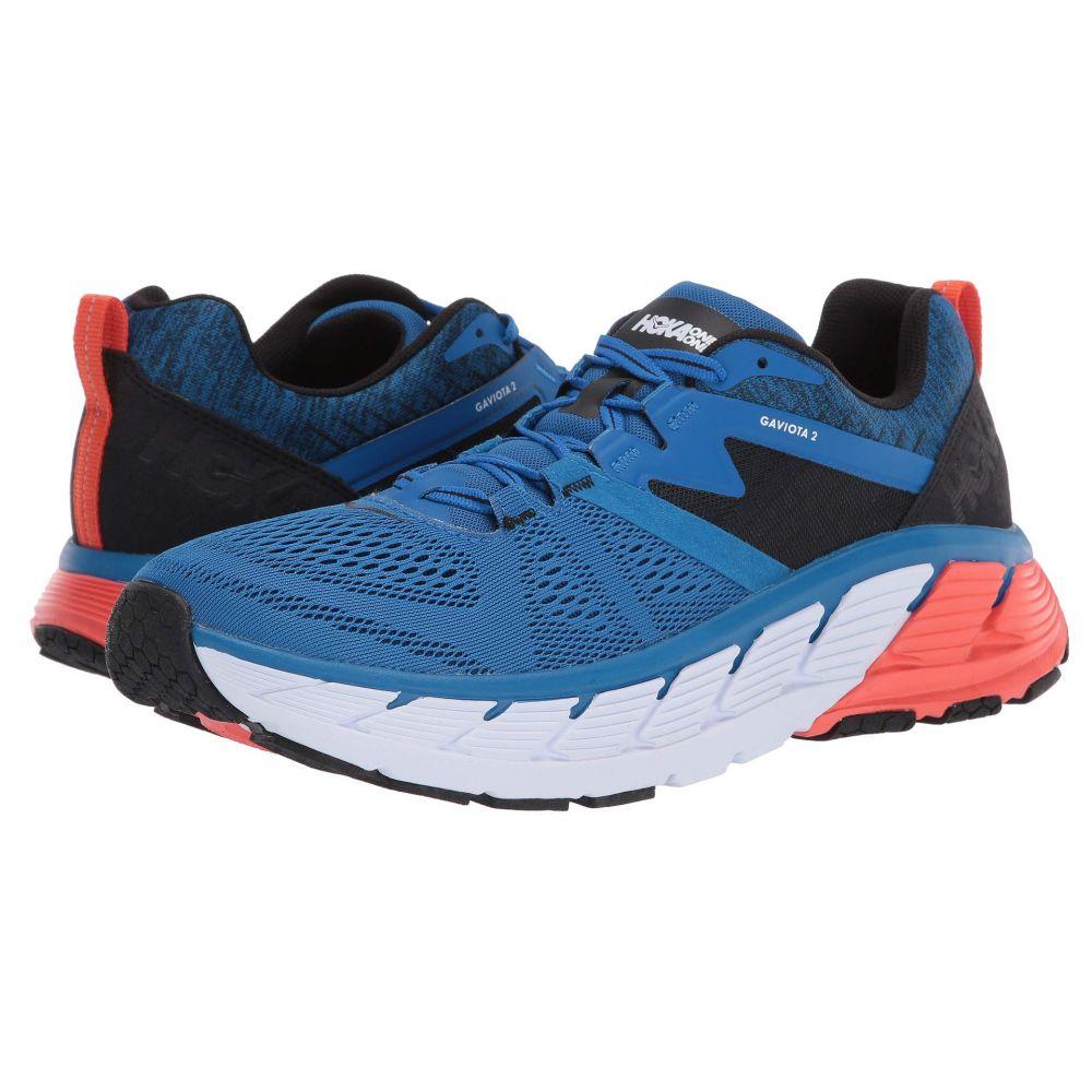 ホカ オネオネ Hoka One One メンズ ランニング・ウォーキング シューズ・靴【Gaviota 2】Imperial Blue/Anthracite