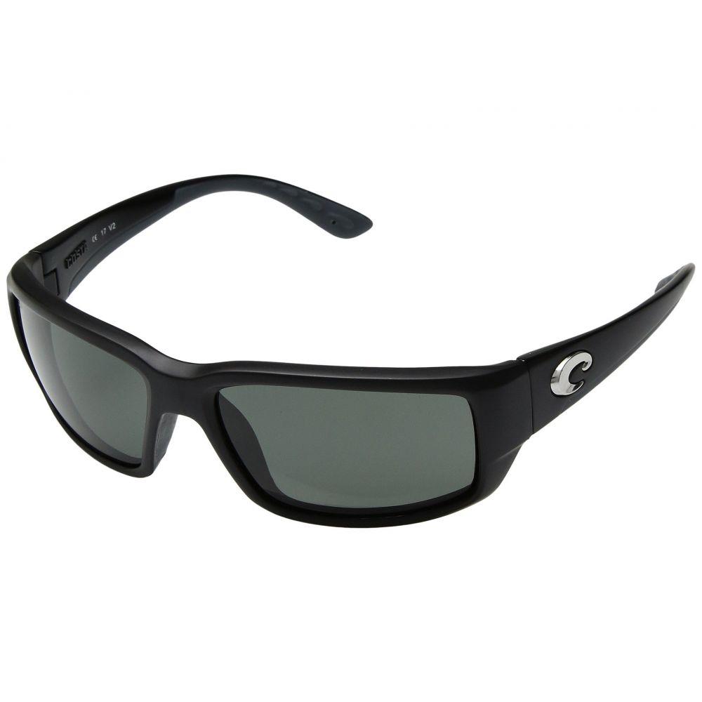 コスタ Costa メンズ メガネ・サングラス 【Fantail】Black Frame/Gray Glass W